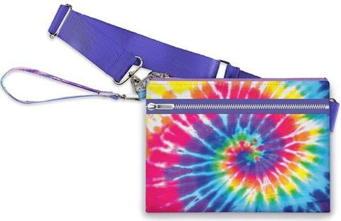 Primary Tie Dye Belt Bag