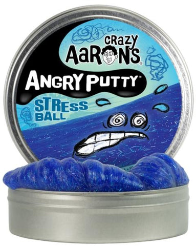 Aaron's Thinking Putty World Angry Putty - Stress Ball