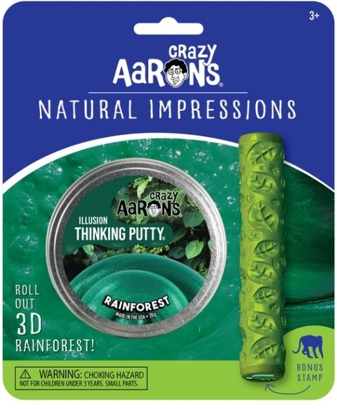 Aaron's Thinking Putty World Natural Expressions - Rainforest