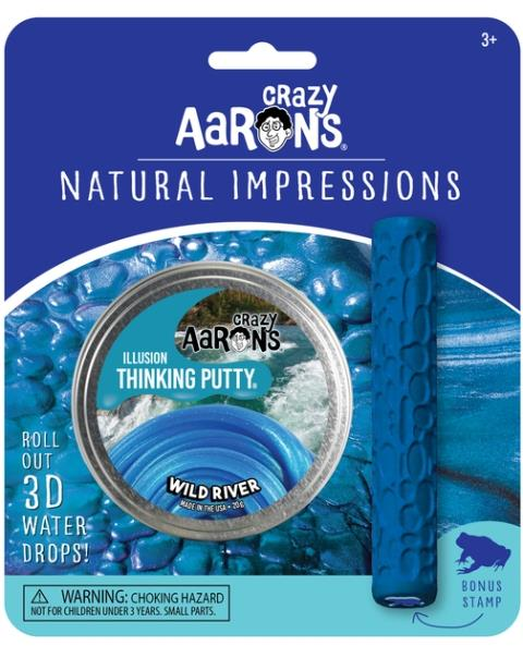 Aaron's Thinking Putty World Natural Expressions - Wild River