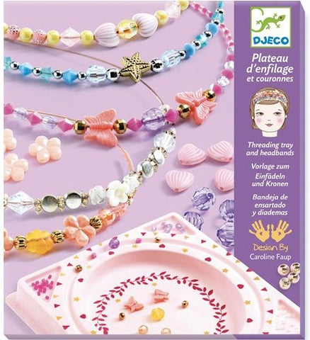 Djeco Art Kit - Beads Precious Headbands