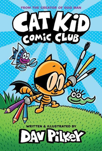 Cat Kid 1 Comic Club