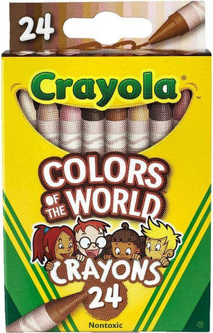 Crayola Colors of the World Crayons