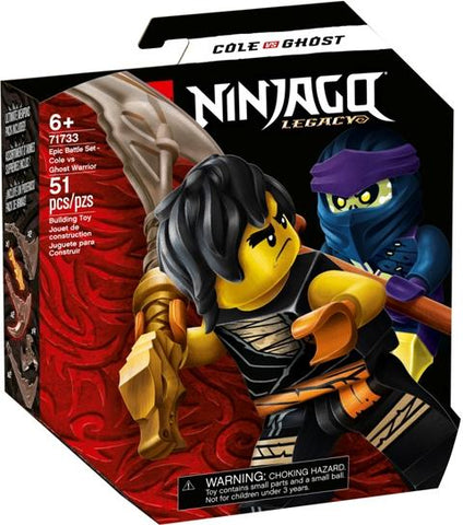 LEGO Ninjago Epic Battle Cole vs. Ghost Warrior