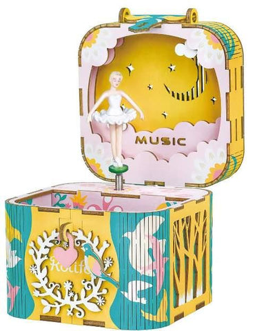 Robotime DIY Music Box Dancing Ballerina