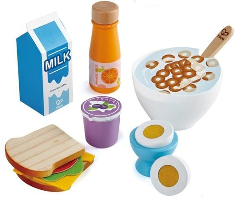 Hape Pretend Delicious Breakfast Playset