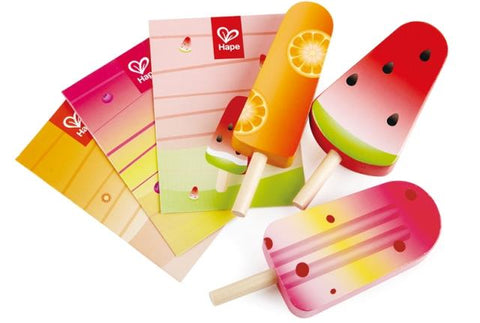 Hape Pretend Perfect Popsicles