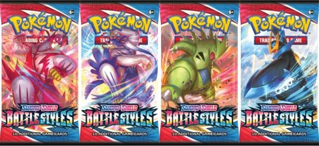 Pokemon Sword & Shield 5 Battle Style Booster Pack