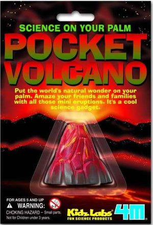 4M KidzLabs Pocket Volcano
