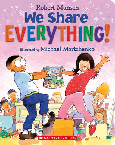 We Share Everything Board Book