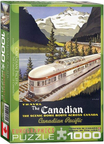 Eurographics Puzzle The Canadian, 1000 Piece