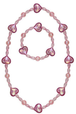 Great Pretenders Fashion - Cotton Candy Necklace Bracelet Set