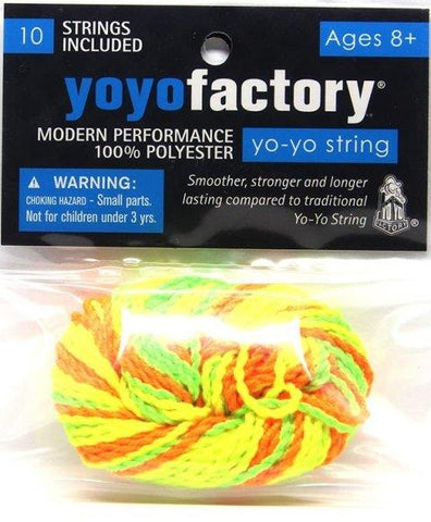 YoYoFactory Accessory Strings, 10 Pack
