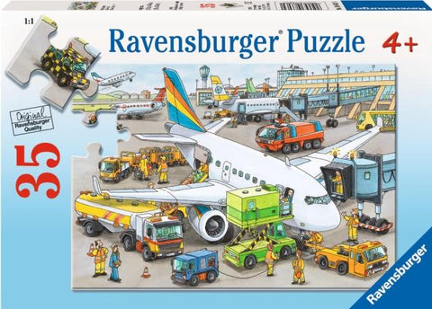 Ravensburger Puzzle 35 Piece, Busy Airport