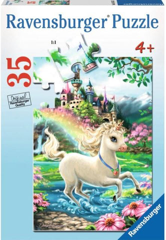 Ravensburger Puzzle 35 Piece, Unicorn Castle