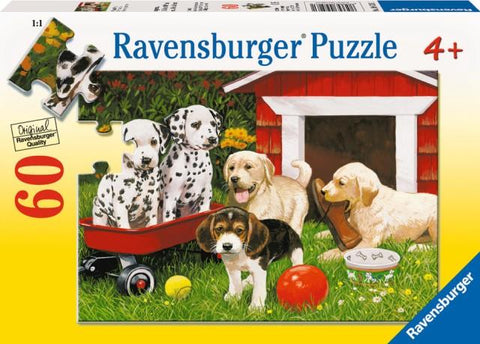 Ravensburger Puzzle 60 Piece, Puppy Party