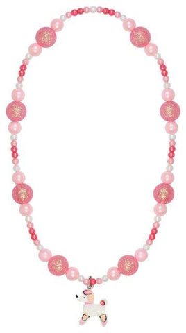 Great Pretenders Fashion - Puffed Paris Poodle Necklace
