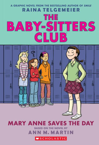 Baby-Sitters Club 3 Mary Anne Saves the Day, Graphic Novel