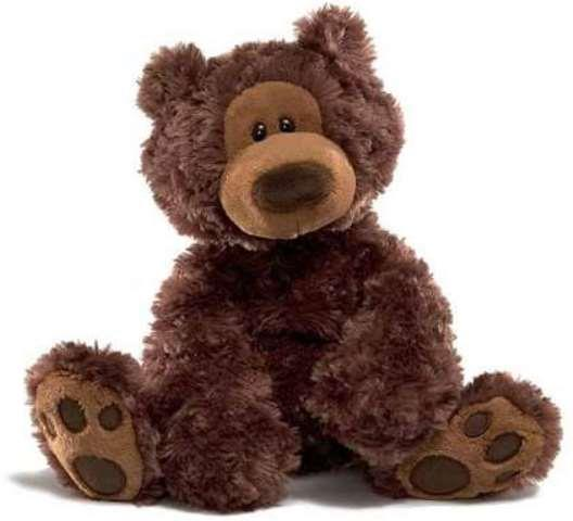 Gund Bear Philbin Chocolate, 12 Inches