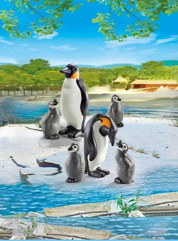 Playmobil City Life Zoo Penguin Family