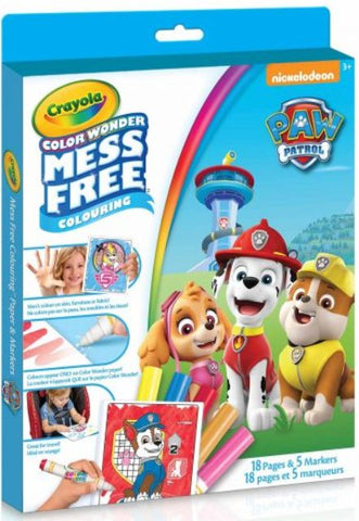 Crayola Colour Wonder Paw Patrol Kit