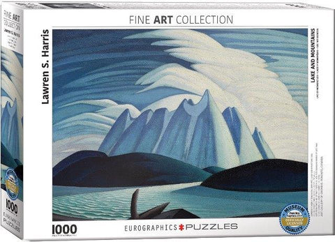 Eurographics Puzzle Lakes and Mountains, 1000 Piece