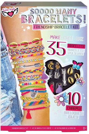 Fashion Angels Soooo Many Bracelets Friendship Bracelet Kit