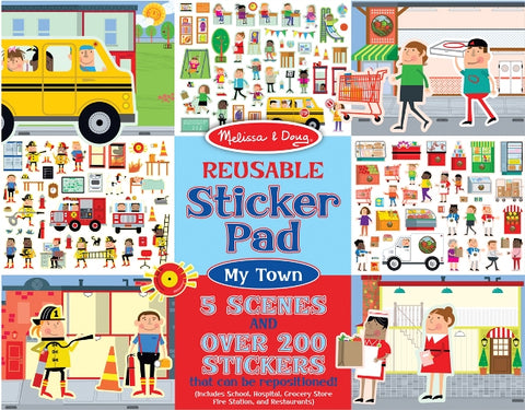Melissa & Doug Sticker Pad My Town