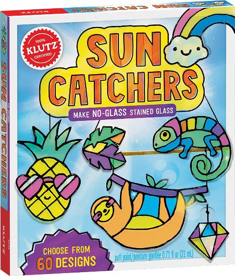 Klutz Sun Catchers Make No-Glass Stained Glass
