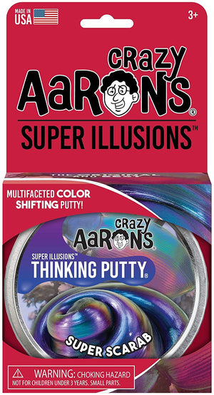 Aaron's Thinking Putty World Super Illusions - Super Scarab