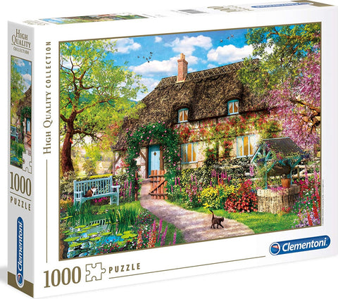 Clementoni Puzzle The Old Cottage, 1000 Piece