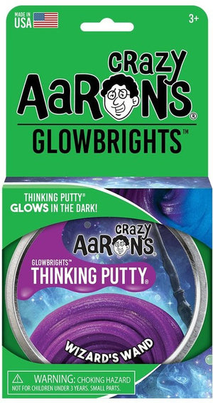 Aaron's Thinking Putty World Glowbrights - Wizard's Wand