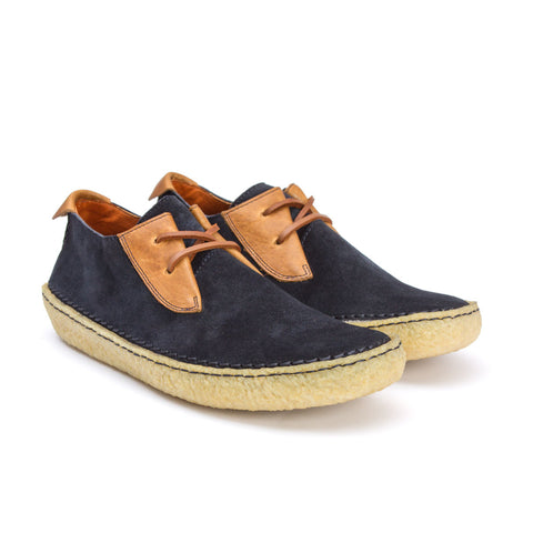 Trail Shoe Navy Suede