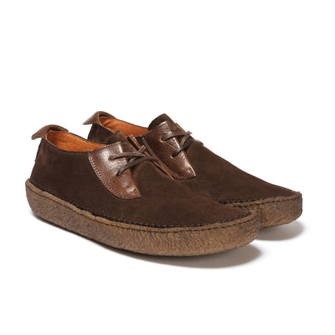 Trail Shoe - Brown Suede