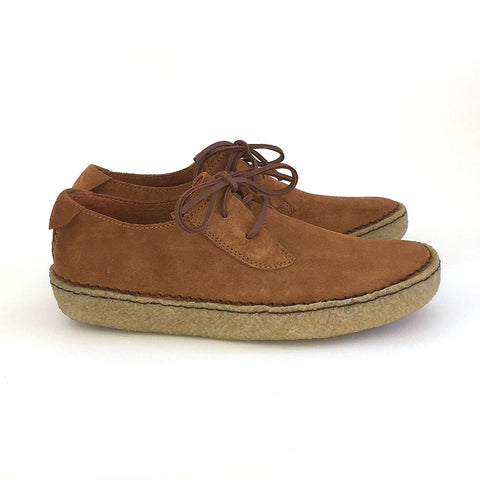 Trail Shoe - Tobacco Suede