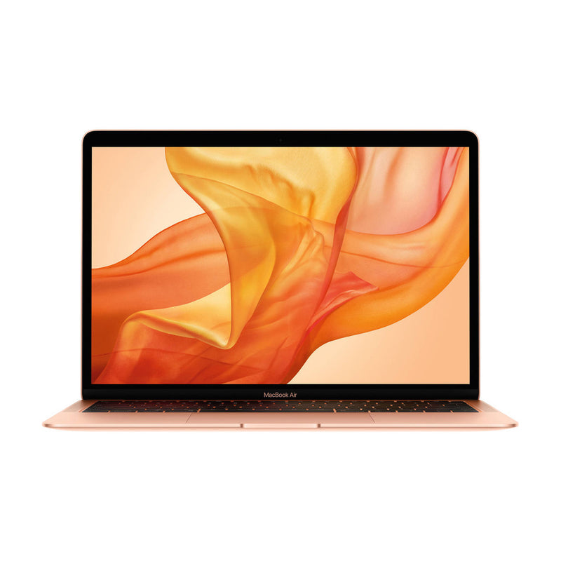 "Apple Macbook Air 13.3"" (Mid 2019) Gold (MVFN2LL/A) (Intel i5 1.6GHz /256GB SSD / 8GB RAM) - English (AppleCare+ Included) - Open Box"