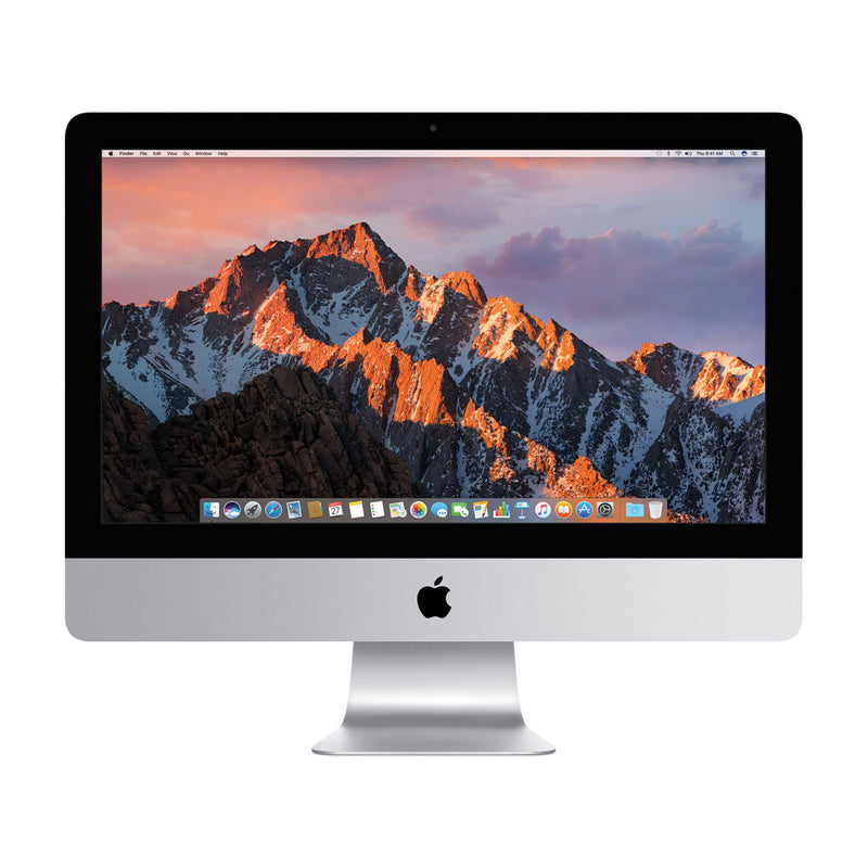 "Apple iMac 21.5"" (Mid 2017) (MMQA2LL/A) (Intel i5 2.3GHz / 1TB HDD / 8GB RAM) - English (AppleCare+ Included) - Open Box"