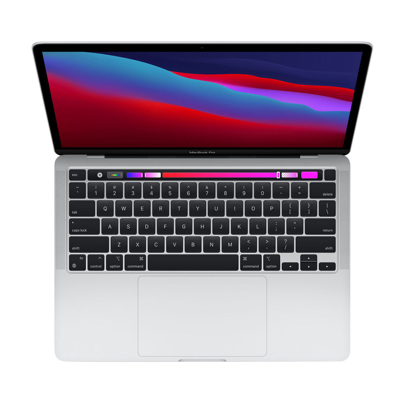 "Apple MacBook Pro 13.3"" with Touch Bar (Fall 2020) - (Apple M1 Chip / 8GB RAM) - English (AppleCare+ Included) - (90 Day Warranty) - Open Box"