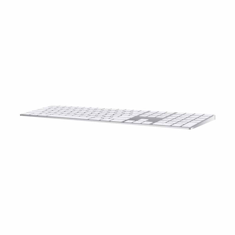 Apple Magic Keyboard Wireless Keyboard with Numeric Keypad - Silver/White - English (1 Year Warranty) - Open Box