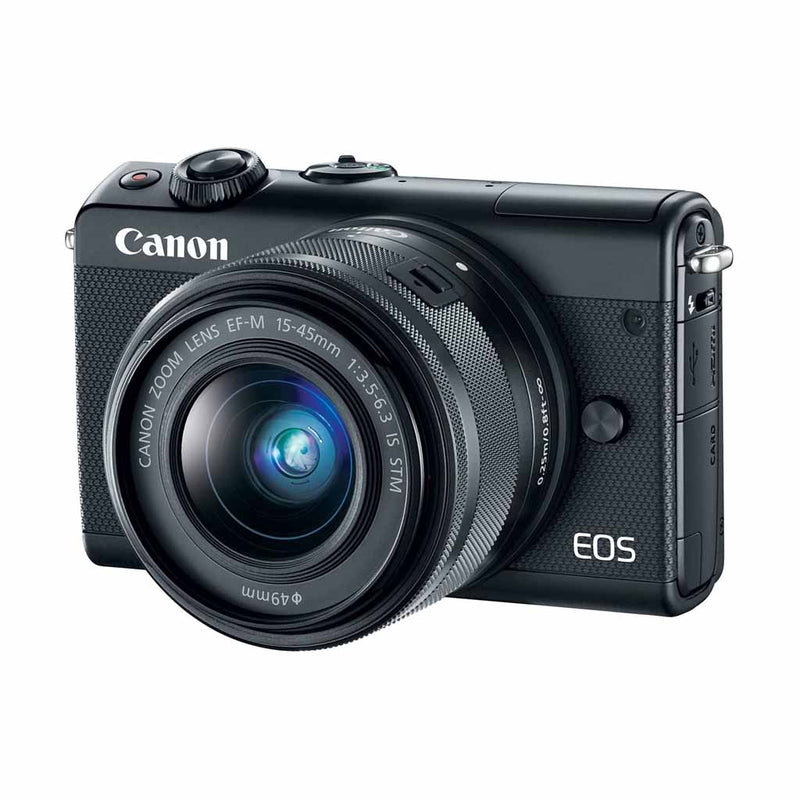 Canon EOS M100 Mirrorless Camera with EF-M 15-45mm Lens (6 Month Warranty) - Open Box
