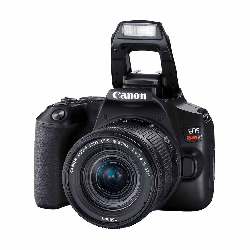 Canon EOS Rebel SL3 24.1MP DSLR Camera with 18-55mm Lens (6 Month Warranty) - Open Box
