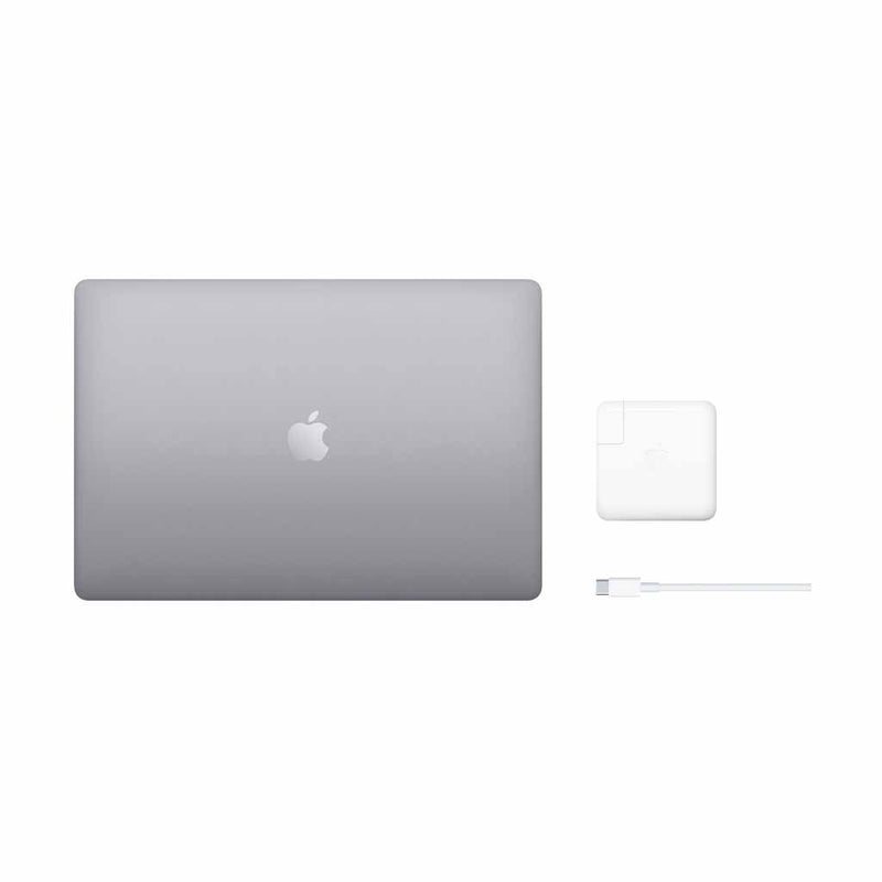"Apple MacBook Pro 16"" (Late 2019) (MVVJ2LL/A)  w/ Touch Bar - Space Grey (Intel i7 2.6GHz / 512GB SSD / 16GB RAM) - English (AppleCare+ Included) - Open Box"