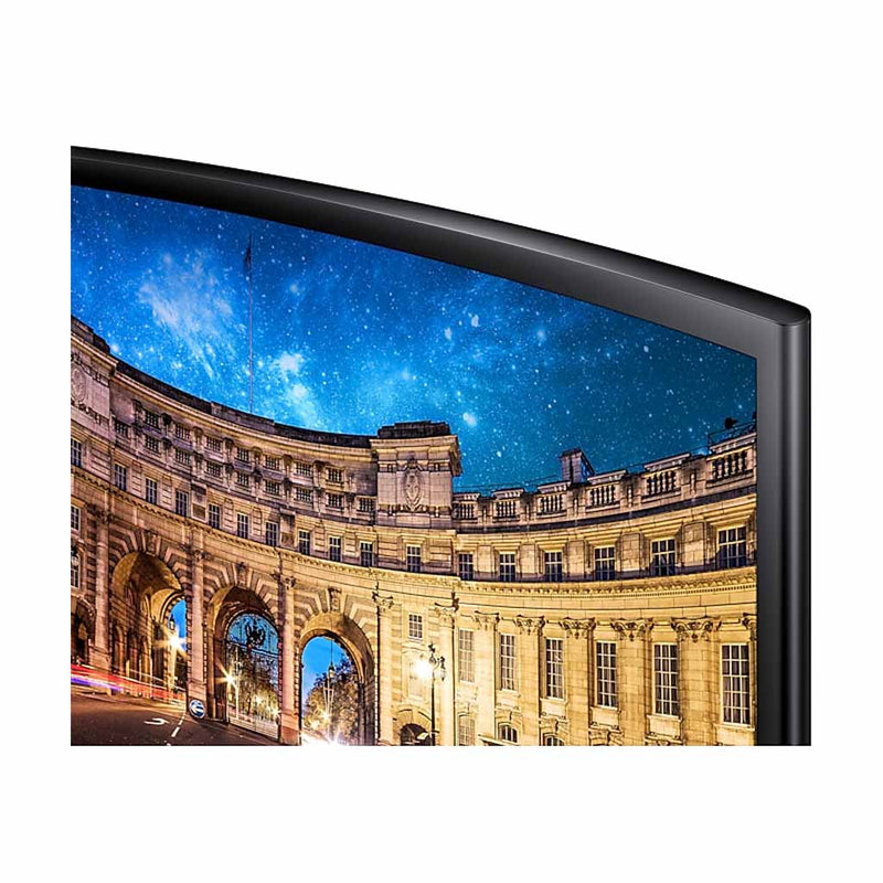 "Samsung 27"" LED 1080P FHD Curved Monitor (C27F396FHN) (1 Year Warranty) - Open Box"