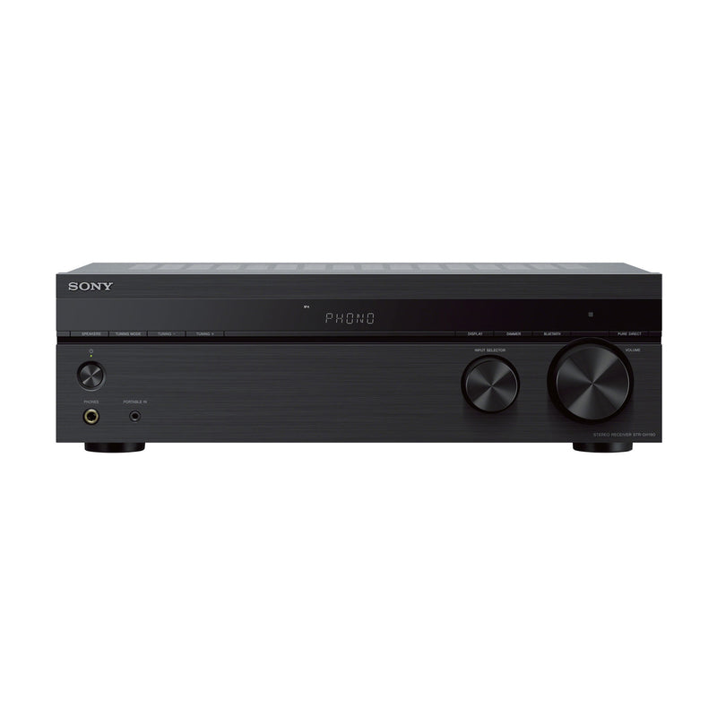 Sony STR-DH190 2.0 Bluetooth, A/B Speaker, Stereo Receiver (1 Year Warranty) - Open Box