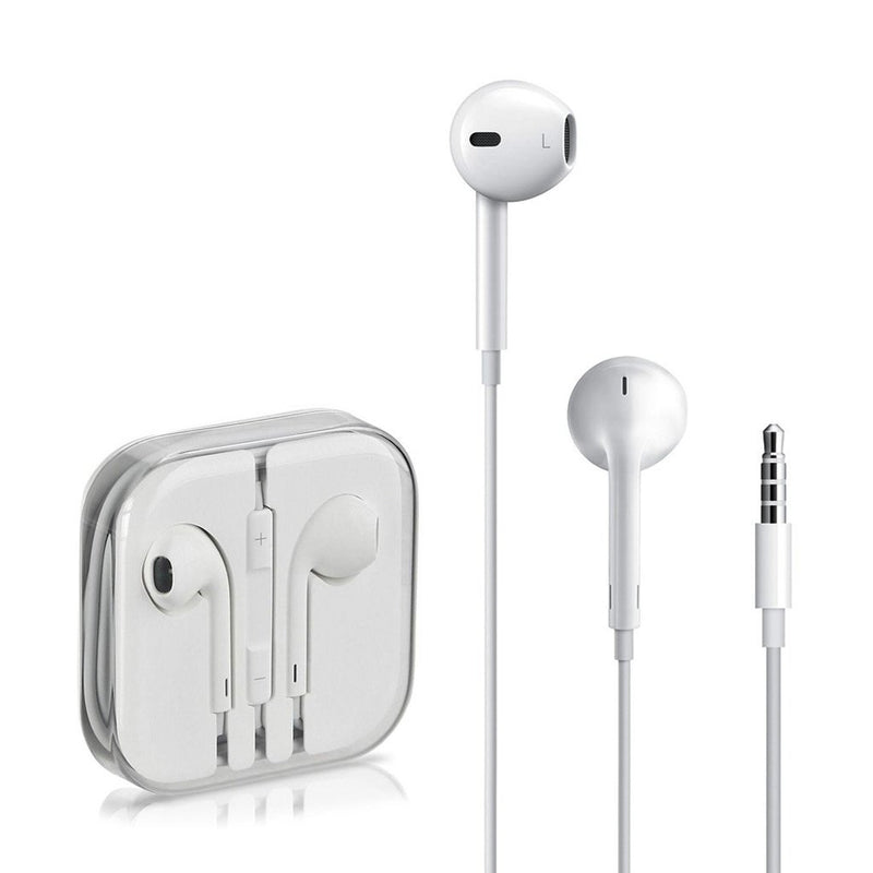 Apple EarPods with Remote, Mic and 3.5mm Headphone Plug in White(90 Day Warranty) Open Box