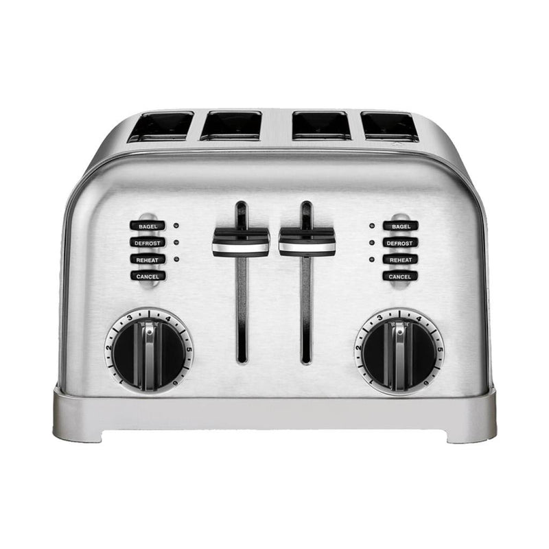 Cuisinart CPT-180 Metal Classic 4-Slice Toaster / Brushed Stainless (Manufacturer Refurbished / 6 Month Warranty)