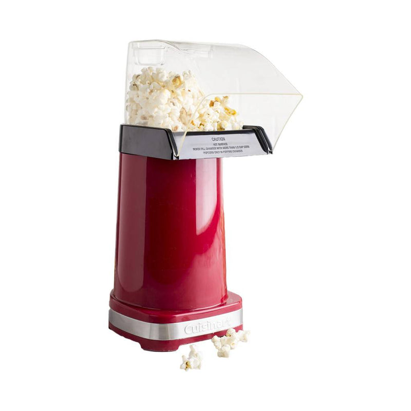Cuisinart CPM-100C EasyPop Hot Air Popcorn Popper - Red (Manufacturer Refurbished / 6 Month Warranty)