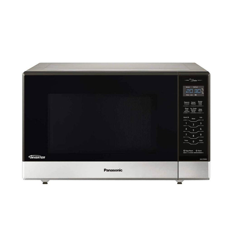 Panasonic 1.2 cu. ft Countertop/Built-In Microwave with Inverter Technology NN-ST696S