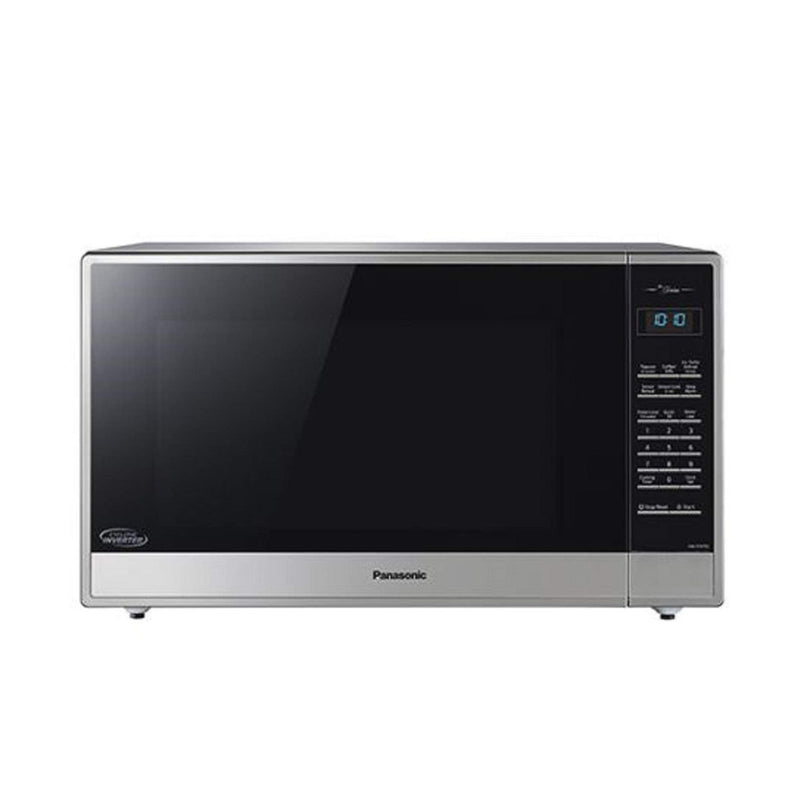 Panasonic 2.2 Cu. Ft. Finger Print Proof Stainless Steel Finish Countertop Microwave NN-ST975S (Manufacturer Refurbished / 6 Month Warranty)