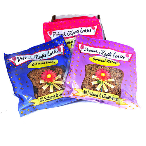 ***Gluten Free*** Oatmeal Cookies Assorted Flavors, 12 per Box